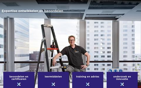 Screenshot of Home Page explain.nl - explain | ieder zijn vak - captured July 24, 2018