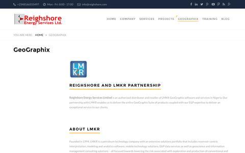Screenshot of Pricing Page reighshore.com - GeoGraphix – Reighshore - captured Dec. 14, 2016