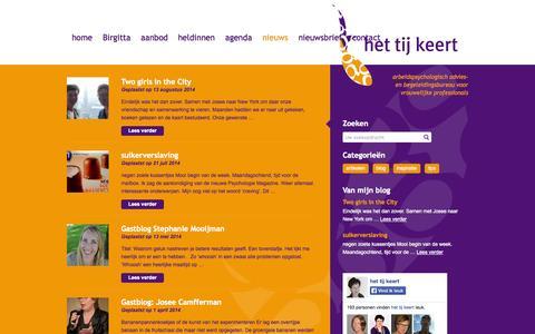 Screenshot of Blog hettijkeert.nl - Het Tij Keert - - captured Sept. 30, 2014