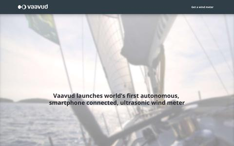 Screenshot of Press Page vaavud.com - Vaavud – Press - captured Oct. 12, 2017