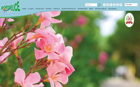 Screenshot of Press Page portofelice.it - News Archivi – Portofelice - captured Oct. 4, 2018