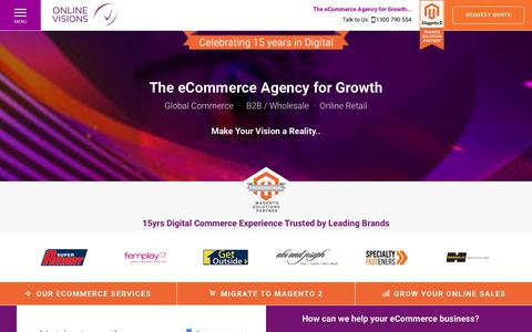 Online Visions | eCommerce Agency | Magento Solutions Partner
