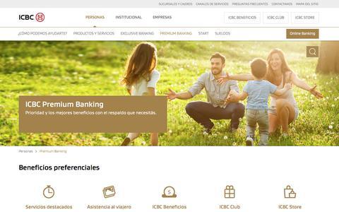 Premium Banking - Cuentas y Tarjetas con Beneficios de ICBC