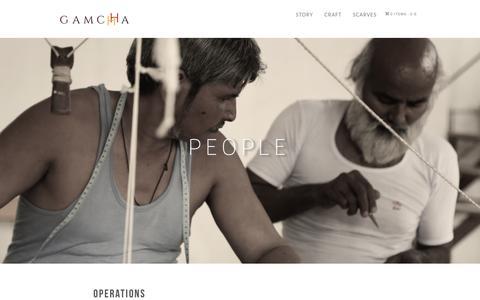 Screenshot of Team Page gamchha.com - People – GAMCHHA - captured Sept. 30, 2018