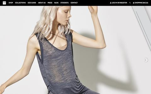 Screenshot of Home Page outincorporated.com - OUT INCORPORATED   ANYWHERE, EVERYWHERE ACTIVEWEAR – //OUT INCORPORATED - captured Aug. 4, 2015