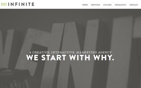 Infinite Agency | A Creative, Interactive Marketing Agency in Dallas