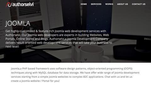 Joomla – Web development company