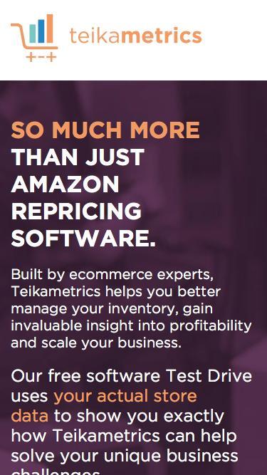 Grow Your FBA Business with Amazon Repricing Software | Teikametrics