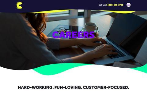 Screenshot of Jobs Page crewscontrol.com - Video Production Jobs, Maryland Film Crews, Camera Crews - captured Sept. 30, 2018
