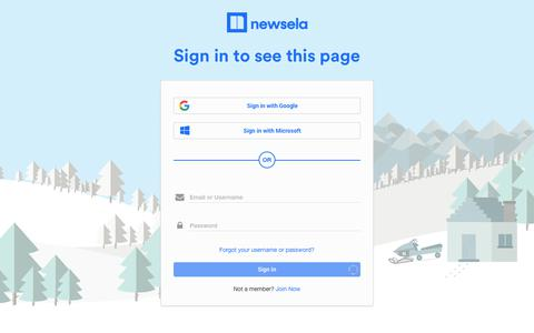 Newsela   Sign In