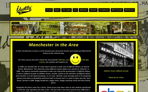 Screenshot of Home Page identity-manchester.co.uk - Identity Manchester © - captured Sept. 28, 2015