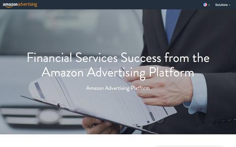 Screenshot of Case Studies Page amazon.com - Amazon Advertising - captured Nov. 4, 2016