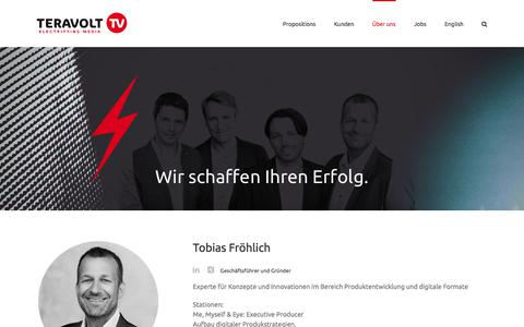 Screenshot of Team Page teravolt.tv - Management - TeraVolt GmbH - electrifying media - captured Nov. 7, 2017