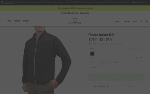 Travel Fleece Jacket - SCOTTeVEST