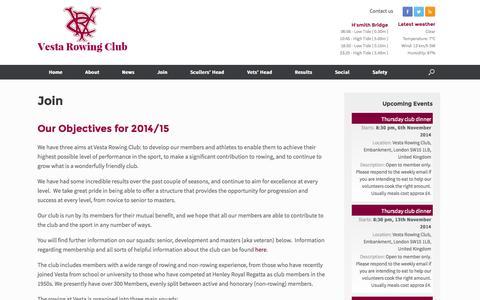 Screenshot of Signup Page vestarowing.co.uk - Join Vesta - captured Nov. 3, 2014