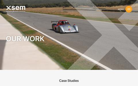 Screenshot of Case Studies Page xsem.co.uk - atrium-icon-sheet - captured Nov. 9, 2018