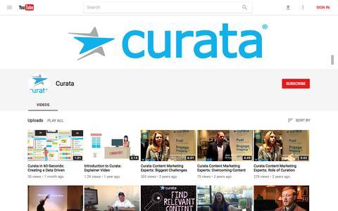 Curata - YouTube