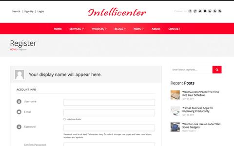 Screenshot of Signup Page cuccfree.org - Register - Intellicenter - captured Sept. 23, 2014