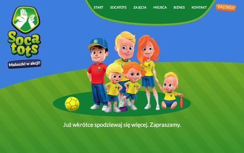 Screenshot of Login Page socatots.pl - SOCATOTS - login - captured Nov. 4, 2014