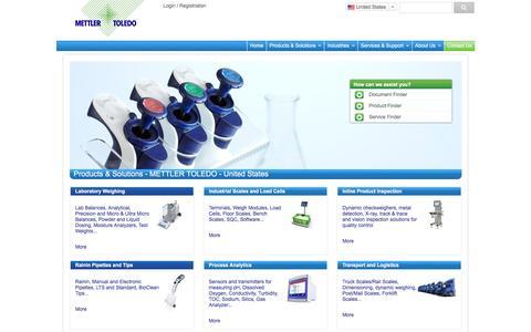 METTLER TOLEDO Balances & Scales for Industry, Lab, Retail - METTLER TOLEDO