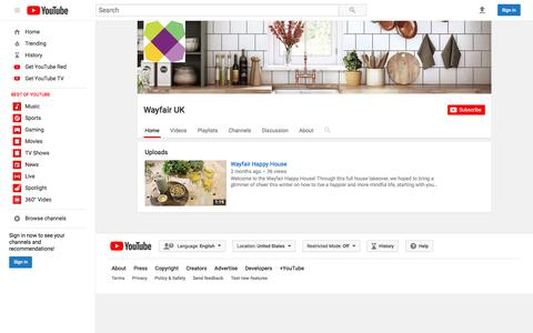 Wayfair UK  - YouTube