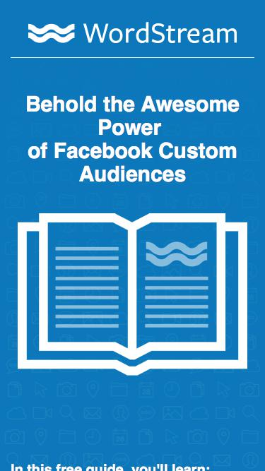 Awesome Power of Facebook Custom Audiences