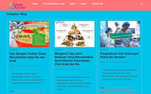 Screenshot of Blog betacenter.org - Blog Archives - - captured Oct. 4, 2018