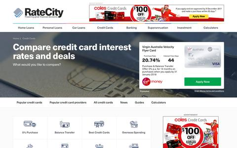 Top 2017 Credit Cards - $0 Annual Fee Credit Cards | RateCity