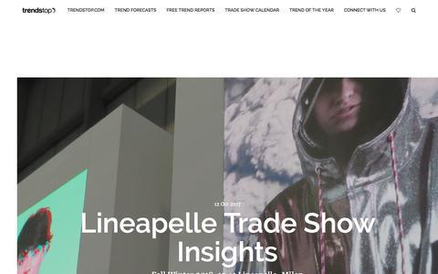 Screenshot of Blog trendstop.com - Trendstop Blog - captured Oct. 29, 2017