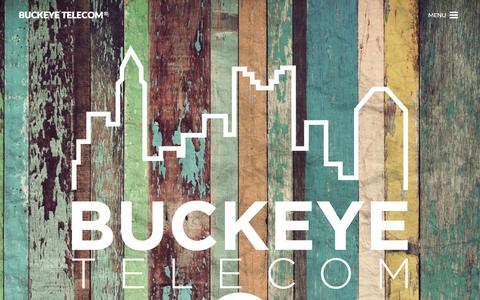 Screenshot of Home Page buckeyetelecom.com - Cloud Computing Columbus OH | Buckeye Telecom - captured Jan. 7, 2016