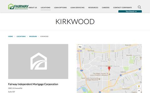 Kirkwood | Fairway Independent Mortgage Corporation