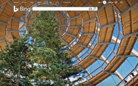 Screenshot of Home Page bing.com - Bing - captured July 31, 2019