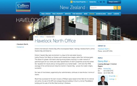 Havelock North Office | New Zealand | Colliers International