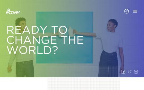 Screenshot of Jobs Page ecover.com - Careers | Ecover - Ready to change the world? - captured Sept. 27, 2018