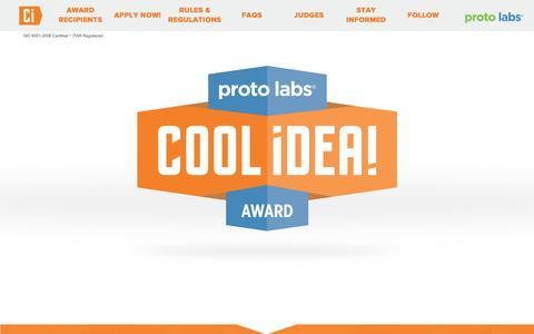 Proto Labs' Cool Idea! Award