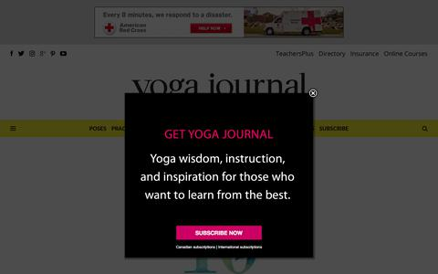 About Yoga Journal: The #1 Authority on Yoga and the Yoga Lifestyle - Yoga Journal