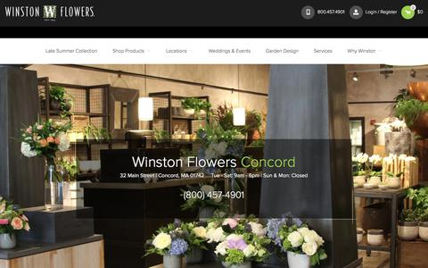 Concord Florist: Same Day Flower Delivery in Concord & Boston | Winston Flowers | Winston Flowers
