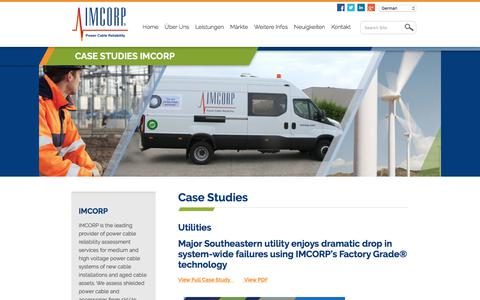 Screenshot of Case Studies Page imcorp.com - Case Studies IMCORP - IMCorp - captured Dec. 20, 2017