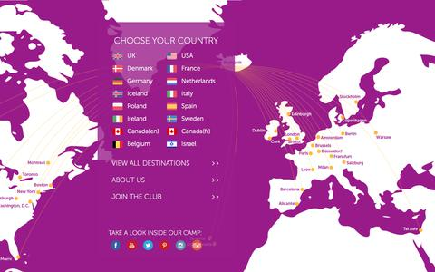 Screenshot of Home Page wowair.com - Welcome to WOW air - captured June 14, 2017