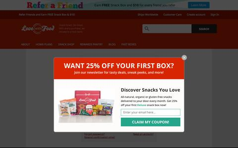 Screenshot of Login Page lovewithfood.com - Sign In | Love With Food - captured Sept. 26, 2018