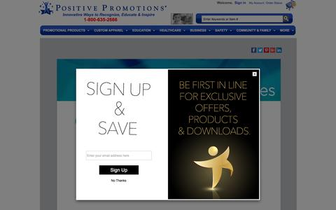 Screenshot of Press Page positivepromotions.com - Press Release Main Page - captured April 3, 2017