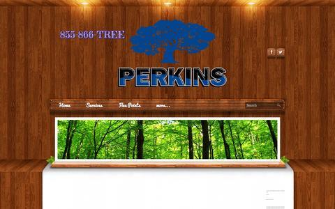 Screenshot of Testimonials Page perkinstree.com - Testimonials - Perkins Tree & Landscape Services, Inc. - captured Oct. 2, 2014
