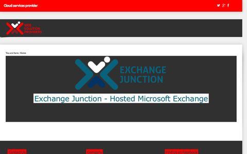 Screenshot of Home Page websolprov.com - Main Page - captured Nov. 29, 2016