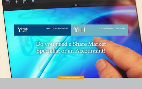 Screenshot of yovich.co.nz - Yovich | Yovich Hayward Pevats Johnston Limited - captured June 15, 2016