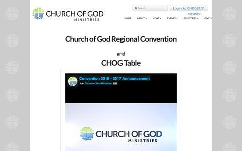 Screenshot of FAQ Page Maps & Directions Page jesusisthesubject.org - Church of God Convention 2016 | Jesus is the Subject - captured Jan. 28, 2016