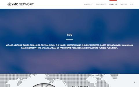 Screenshot of About Page ymcnetwork.com - About Us | YMC Network - captured Sept. 22, 2014
