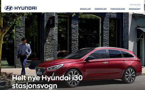 Startsiden | Hyundai Norway