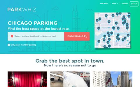 Chicago Parking From $12 - Book Your Parking Now & Save Up To 60%! | Guaranteed Parking - ParkWhiz