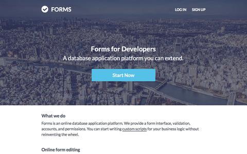 Screenshot of Developers Page sonadier.com - Sonadier - captured Nov. 20, 2015