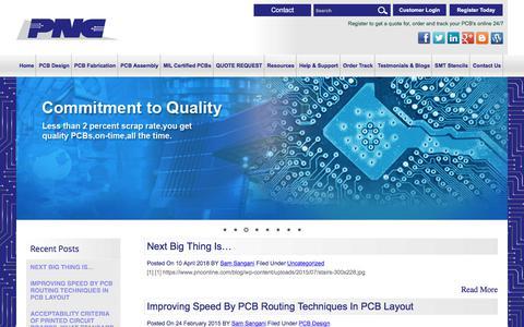 Screenshot of Blog pnconline.com - PNC - Blog - captured Sept. 26, 2018